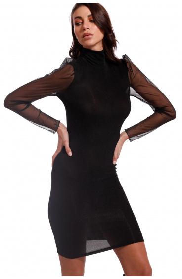 Lamè Knitted Sheath Dress Pin-Up Stars - 1