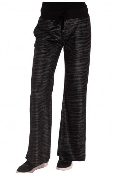 Pantalone In Ciniglia Zebrata Pin-Up Stars - 1