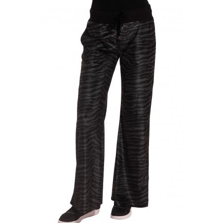 Pantalone In Ciniglia Zebrata