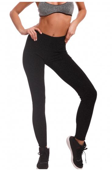 Lurex fleece leggings Pin-Up Stars - 1
