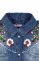 Camicia Jeans Ricamo Folk Pin-Up Stars - 2