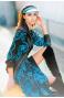 Sweatshirt Chenille Maiolica Pin-Up Stars - 6