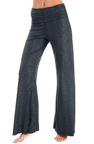 Pantalone a Zampa Glitter Pin-Up Stars - 1