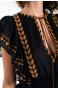 Blusa Etnic Embroidery Pin-Up Stars - 8