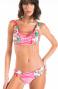 Bikini Fascia Con Incrocio Fiore Campo Glitter Pin-Up Stars - 1