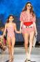 Shorts Con Fusciacca In Vita Stampa Pied De Poule Pin-Up Stars - 5