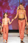 Pantalone Con Fusciacca Stampa Pied De Poule Pin-Up Stars - 4