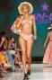 Bikini Fascia Con Incrocio Fiore Campo Glitter Pin-Up Stars - 4