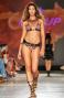 Bikini Triangolo Scorrevole Stampa Patch Slip Brasiliano Pin-Up Stars - 15