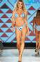 Bikini Triangolo Scorrevole Grafic Slip Regolabile Agogoa - 1
