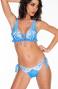 Bikini Brassiere Print Patch With Studs Pin-Up Stars - 2