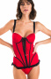 Full Balconette Swimsuit With Inserts Pin-Up Stars - 9
