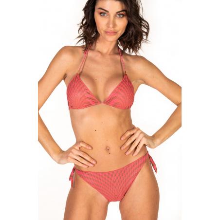 Padded Triangle Bikini Briefs Lady Pied De Poule