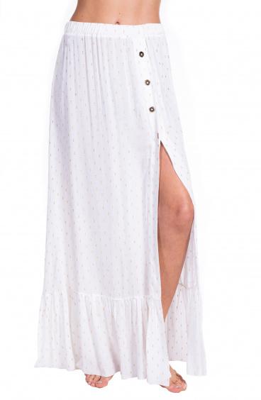 Plumetì Gold Long Skirt Pin-Up Stars - 1