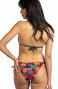 Bikini Triangolo Imbottito Slip Fiocchi Fiore Campo Glitter Pin-Up Stars - 3