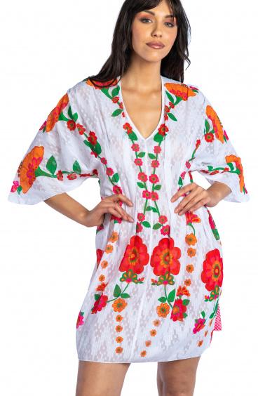 Abito Kimono Fiore di Campo Pin-Up Stars - 1