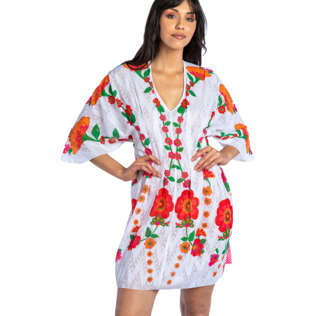 Field Flower Kimono Dress
