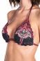 Bikini Triangolo Scorrevole Stampa Patch Slip Lady Pin-Up Stars - 13