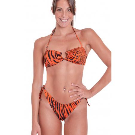 Bikini Fascia Animal Colors Slip Fiocchi