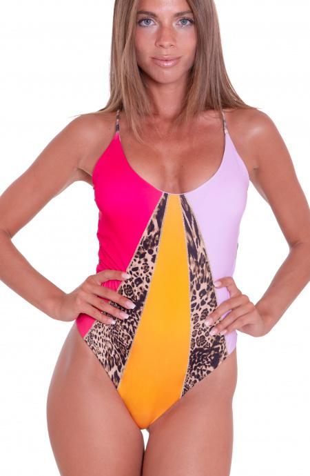 Costume Intero Olimpionico Animal Colors Agogoa - 1