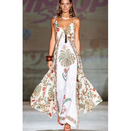 Maxi Dress Indian Print