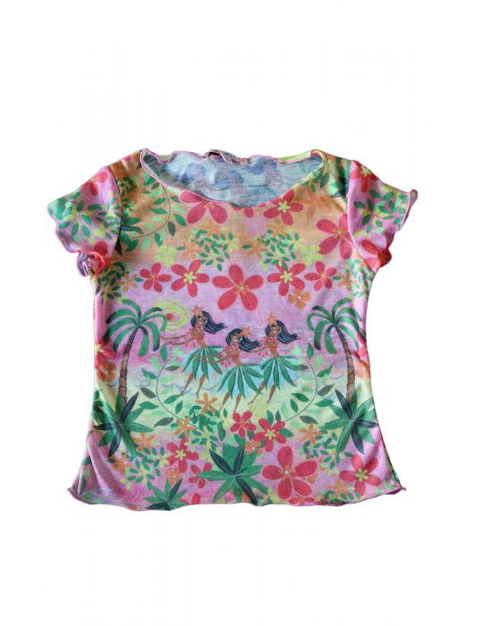 T-shirt Baby stampa Hawaii
