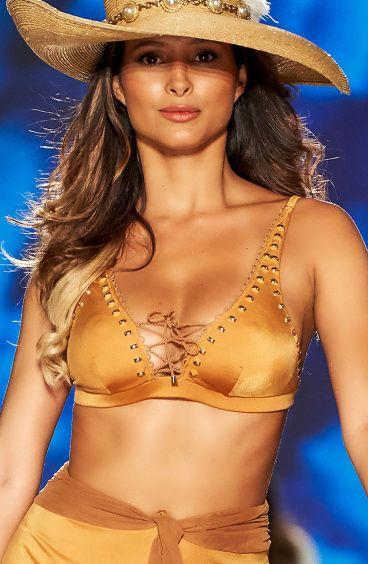 Top Bikini Brassiere Scollo Incrociato Pin-Up Stars - 13