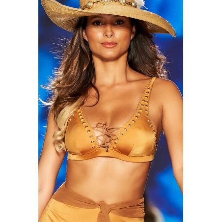 Top Bikini Brassiere Scollo Incrociato