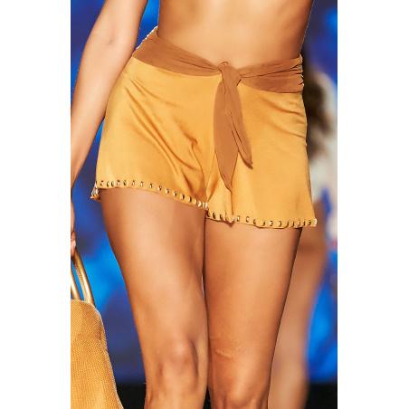 Shorts Ricamo Borchie