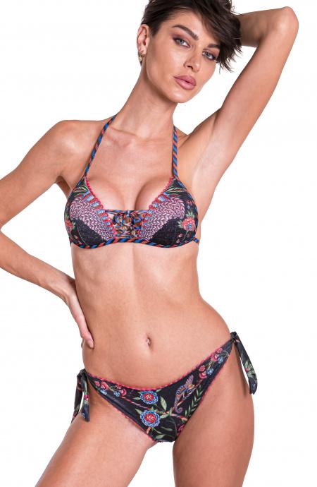 Bikini Triangle Push-Up Slip Lady Chameleon Pin-Up Stars - 7