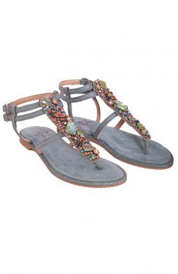 Sandalo Pietre Preziose Pin-Up Stars - 6