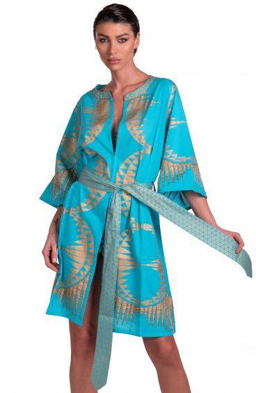 Kimono Stampa Oro Pin-Up Stars - 4