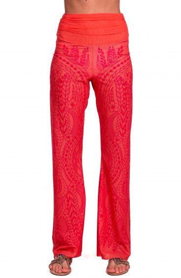Etnic Flower Trousers Pin-Up Stars - 1