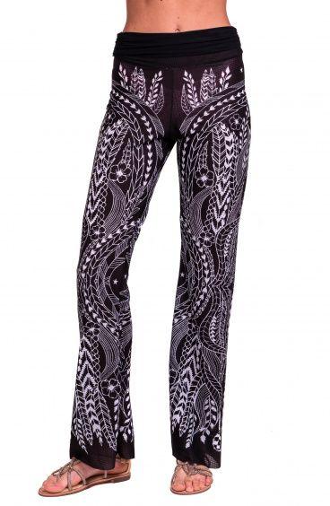 Pantalone Etnic Flower Pin-Up Stars - 10