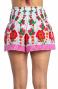 Shorts con Volant Fiore Campo Pin-Up Stars - 2