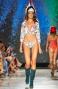 Bikini Triangolo Scorrevole Camaleonte Strass Slip Brasiliano Pin-Up Stars - 10