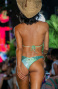 Bikini Triangolo Imbottito Slip Sgambato Paillettes Pin-Up Stars - 2