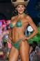Bikini Triangolo Imbottito Slip Sgambato Paillettes Pin-Up Stars - 3