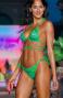 Arcuri bikini cu triunghi și căptușeală Lurex pătat Pin-Up Stars - 3