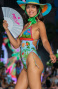 Costume Intero Imbottito Olimpionico Jungla Attitude Pin-Up Stars - 2