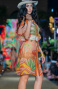 Dress Garza Stampa Dune Pin-Up Stars - 3