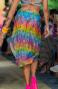 Abito Pareo Con Cintura Multiuso Flower Rainbow Pin-Up Stars - 2