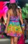 Abito Svasato Rainbow Flower Pin-Up Stars - 2