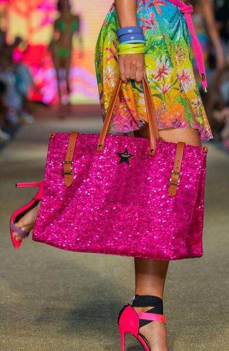 Shopper Paillettes Pin-Up Stars - 1