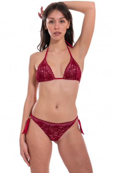 Bikini Triangolo Imbottito Slip Brasiliana Pin-Up Stars - 1