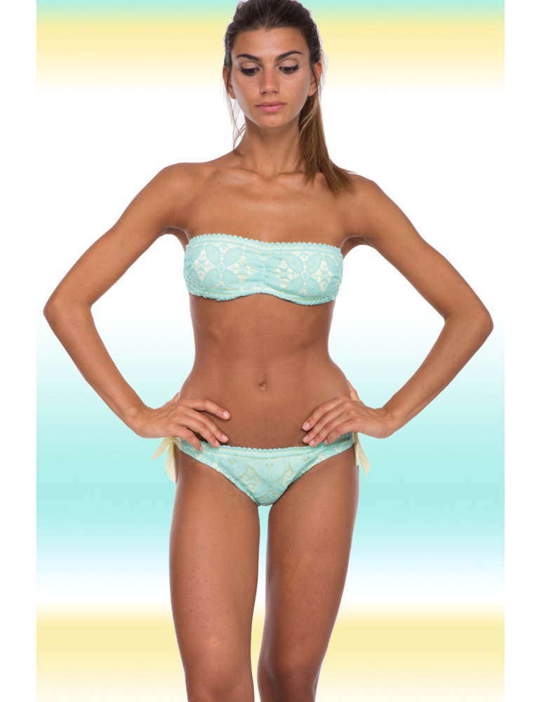 Bikini a fascia imbottito hot girls wallpaper - Costumi da bagno a fascia ...