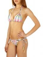 Bikini Triangolo scorrevole stampa Tribal Chic