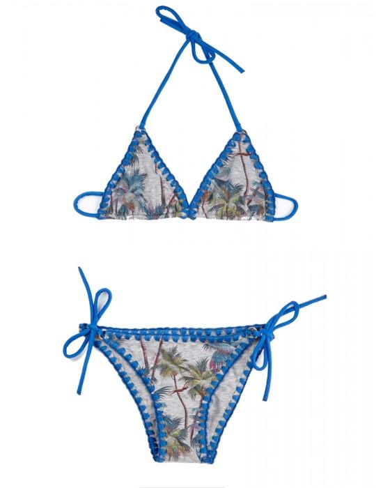 Bikini Baby triangolo scorrevole stampa Palm Springs