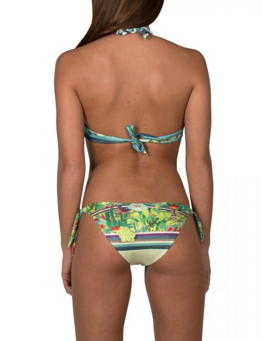Bikini Balconcino con Ferretto stampa Tropical Cactus