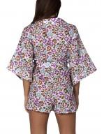Tuta Corta a Kimono stampa Macula